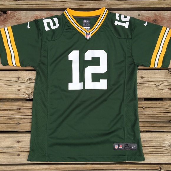 d0bfb144 Nike Shirts & Tops | Green Bay Packers Aaron Rodgers Jersey | Poshmark